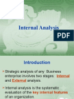 IV. Internal Analysis