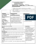 PLANEACIONES CIENCIAS III, BLOQUE IV, TEMA2
