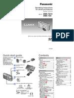 Panasonic DMC-TZ10 User's Manual