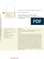 BlanksbySJ10_Advances in Mass Spectrometry for Lipidomics