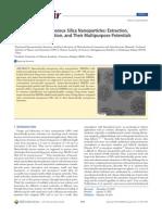 DuX11_Hierarchically Me So Porous Silica Nano Particles