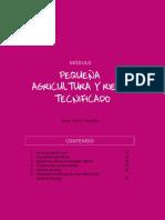 Pequeña agricultura y riego tecnificado - Lurin