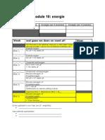 M10 Planning