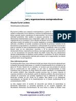 Estado, Propiedad y Organizaciones Socioproductivas