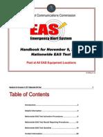 National Emergency Alert System Handbook