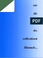 [eBook] Jamgön Kongtrul Rinpoche -- Wie die Mitte des wolkenlosen Himmels (Marpa-Verlag 1989, Buddhismus, German-Deutsch)