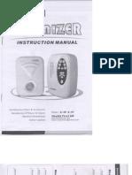 Ozonizer Health First A90 A91