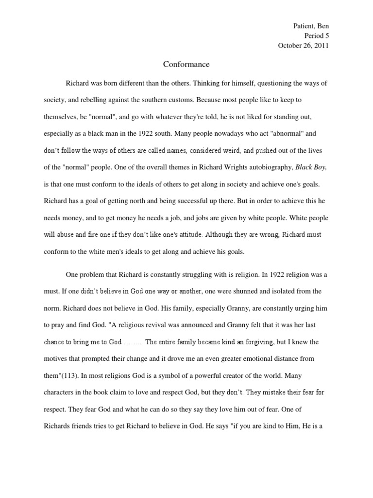 Black Boy Essay  Nigger  God  Research Paper Essay Example also Romeo And Juliet English Essay  What Does A Business Plan Writer Do