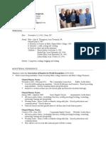 Thompson Resume 2012 03