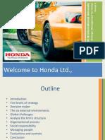 honda strategy presentation