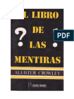 El Libro de Las Mentiras - alesiter crowley
