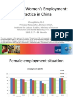 Promoting Women's Employment