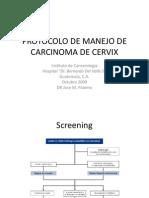Protocolo Cáncer de Cervix