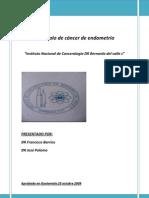 Protocolo Cáncer de Endometrio