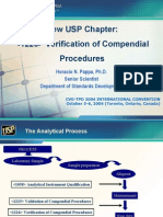 USP Verification of Comp en Dial Procedures CVG CA