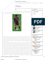 Lionel Messi Biography - Lionel Messi Photo