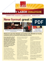 Country Labor Dialogue - March 2012