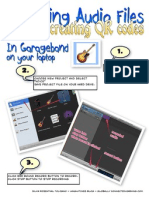 Audio Files and QR Codes