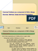 Chemical Fertlizers as Component of INM in Mango - CORRECTED