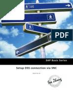 SAP Basis Series - Setup OSS Connection via SNC