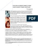 Poder Constituyente y Poder Constituido Por Marta Harnecker[1]