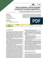 Método Ergo/IBV de evaluación de riesgos ergonómicos