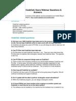 QA PV for CC Webinar