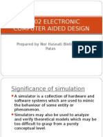 Ec302 Electronic Computer Aided Design Chapt 1