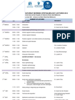 Eye and Ear Saturday Ophthalmology Lectures Series 2012