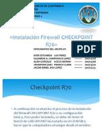 Instalación Firewall Checkpoint R70