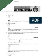 id Soal Try Out UN SD 2012 - Matematika (Soal Plus Jawaban)