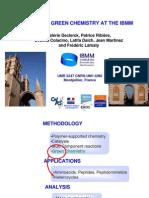 Exampels of Green Chemistry at Ibmm