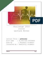 Challenge 2010 Parkinson