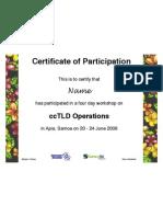 Ws Certificate Template