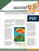 folleto discapacidad