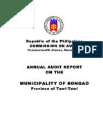 01-Municipality of Bongao08 Audit Report