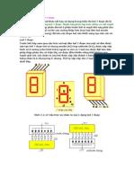Giải mã BCD sang led 7 đoạn