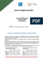 Rapporto turismo Puglia 2011