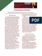 Jewish Roots of Mass
