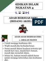 ADAB BERHIAS DIRI (Ting. 4)