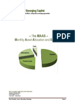 Monthly Asset Allocation and Strategy (MAAS)_January-February 2012