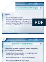 Oracle Projects-