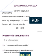 Comunicación y enseñanza