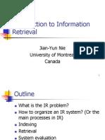 Introduction IR