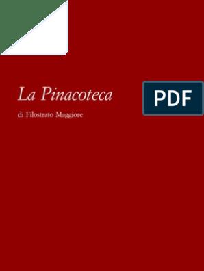 Pinacoteca Filostrato La Pinacoteca La Maggiore Di La Pinacoteca Di Maggiore Filostrato Di Filostrato qzVpUSMG