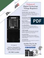 DVR 2000e Generator Katalog