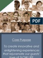 Six Senses Group Presentation - Sep 2009