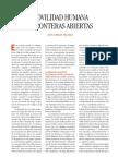 +Movilidad Humana y Fronteras Abiertas - Claves 2012