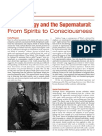 Anthropology & the Supernatural