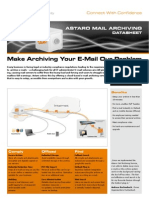Astaro Mail Archiving